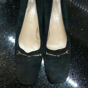 GUCCI Suede heels FABULOUS Condition!